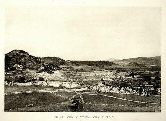 curtius, ernst. olympia, 1892