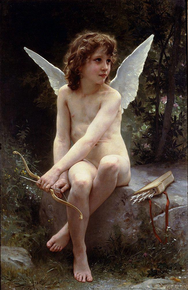 Ἔρως (Amour a l'affut), 1890