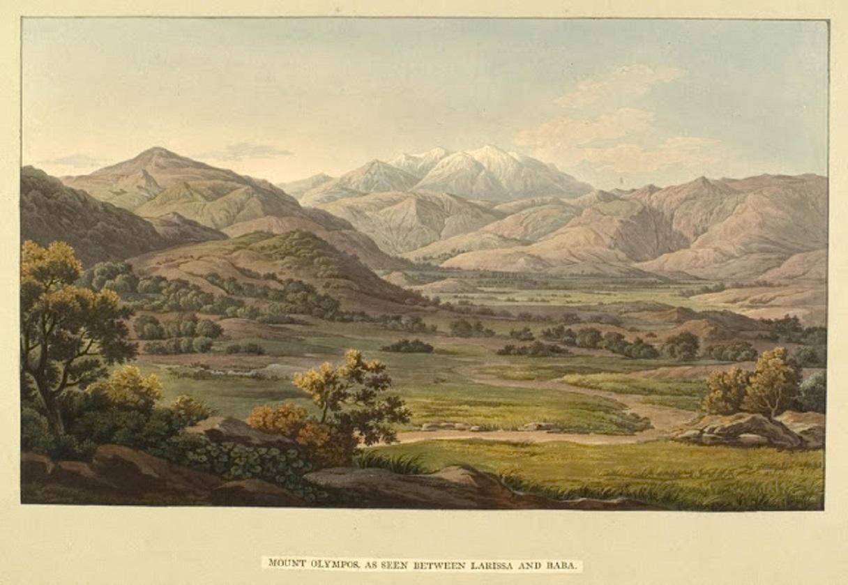 Ὂλυμπος. Dodwell, Edward, 1821