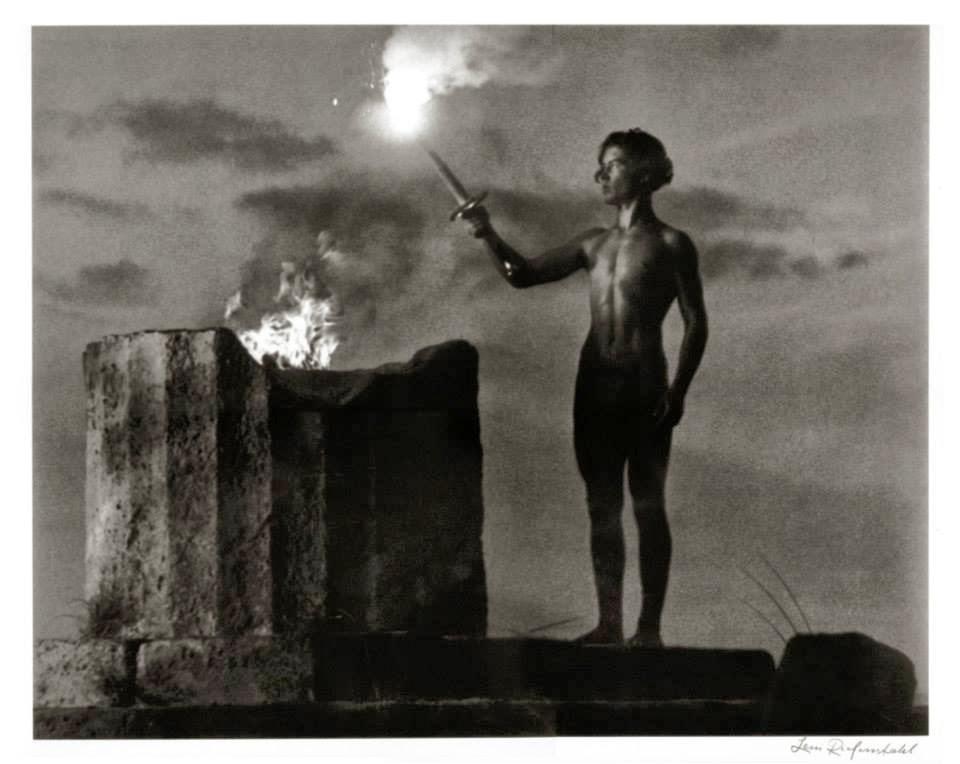 Ἡ πρώτη Ἀφὴ Ὀλυμπιακῆς φλόγας... 1
