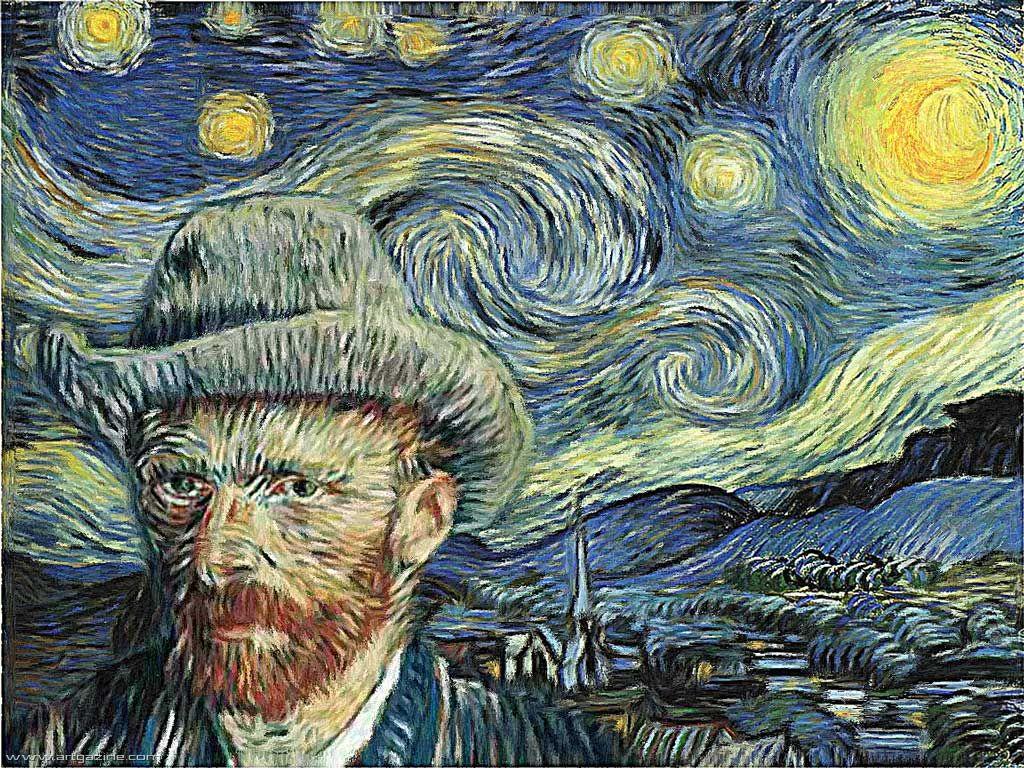Ἔργον τοῦ Van Gogh. Χαοτικότατον!