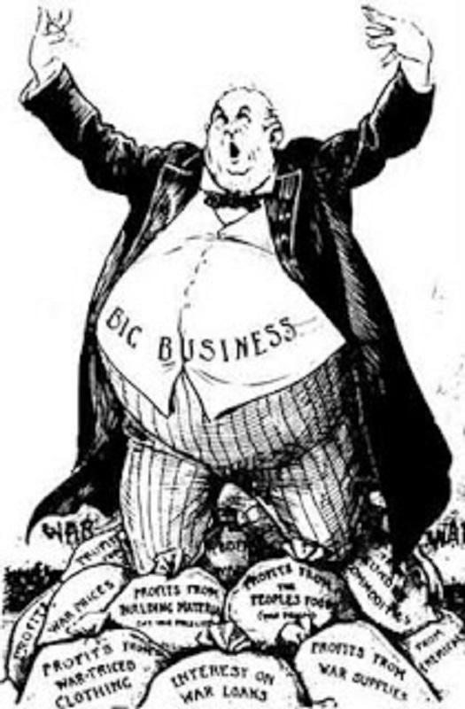 Ἡ στατιστικὴ τοῦ  Big Business! μπίζνες