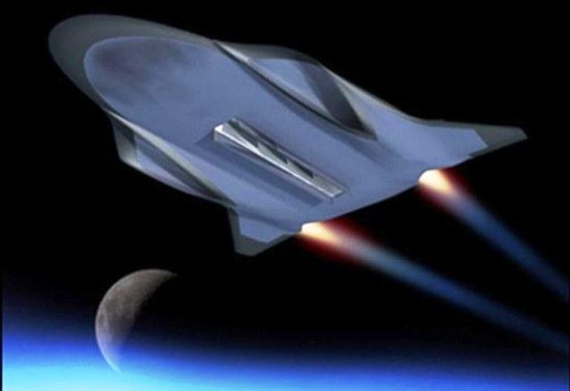 Ὑπερηχητικὸν διαστημόπλοιον, ὄχι ὑπερφωτεινόν! 5