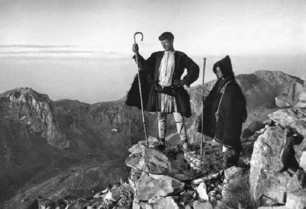 Βοσκοί στὴν κορυφὴ τοῦ Παρνασσοῦ, 1903 Frederic Boissonnas (1858-1946)