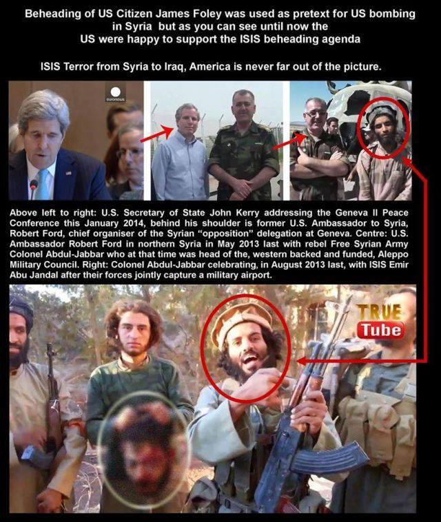 Ἡ ...«κακή» ISIS καὶ οἱ «καλοί» ...Ἀμερικανοί!!!