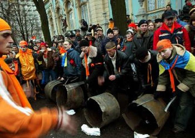 Από τις στημένες διαδηλώσεις στην Ουκρανία