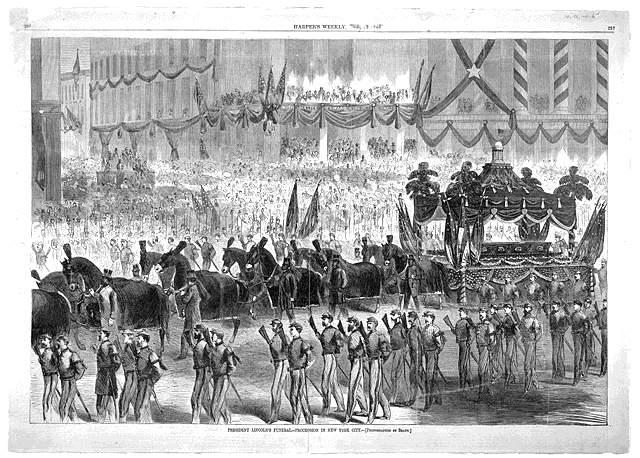 Η κηδεία τού Linkoln