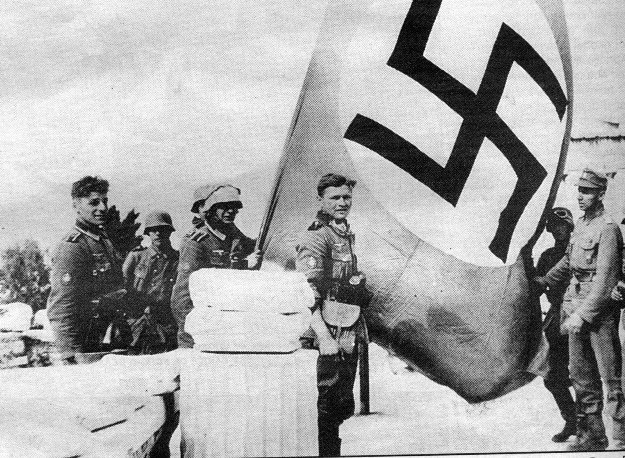 Γερμανικές κατοχικές δυνάμεις