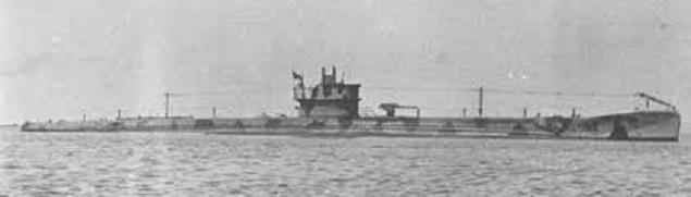 Το υποβρύχιο Delfino, το οποίο τορπίλισε το ελληνικό καταδρομικό...