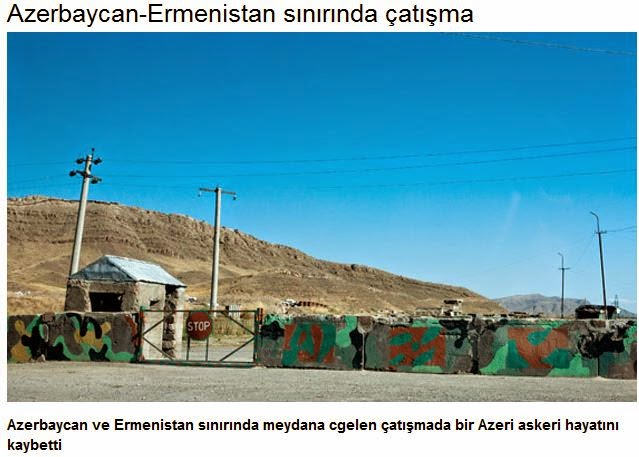 «Ἔντασις» ΚΑΙ μεταξύ Ἀζερμπαιτζάν - Ἀρμενίας;