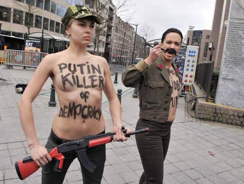 ΚΙ Ο ΔΙΚΗΓΟΡΟΣ ΤΟΝ FEMEN ...«ΠΕΡΙΟΥΣΙΟΣ»; 1