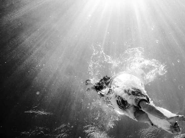 Κολυμβητές...