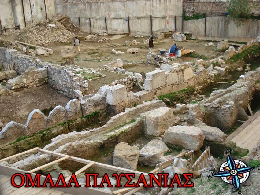 Πρώτη φάση-Οι πρώτες εργασίες ξεκίνησαν πριν απο το 2007 οπου και η αρχαιολογική έρευνα βρισκόταν σε πλήρη εξέλιξη.