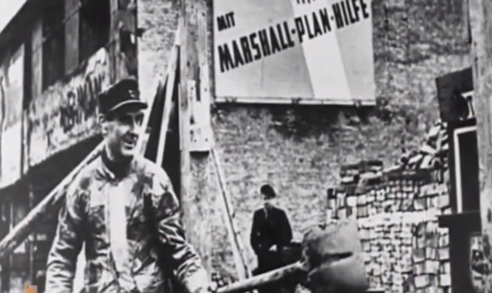 Τὸ σχέδιο Μάρσαλ καὶ μία Γερμανία ποὺ ...σφυρίζει ἀδιάφορα!