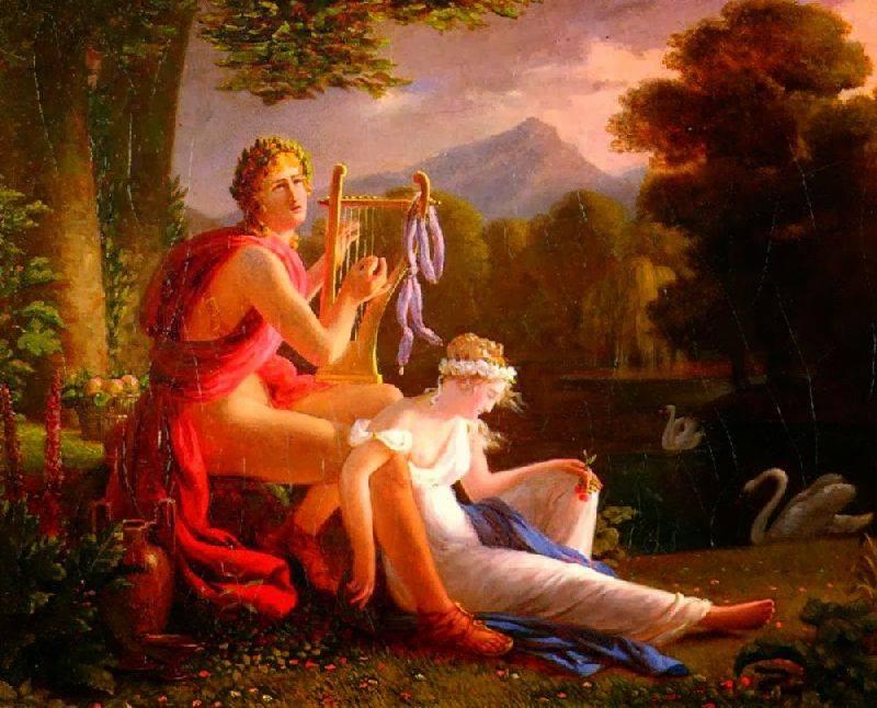 Ἔστησε ὁ Ἔρωτας χορὸ μὲ τὸν ξανθὸ Ἀπρίλη...