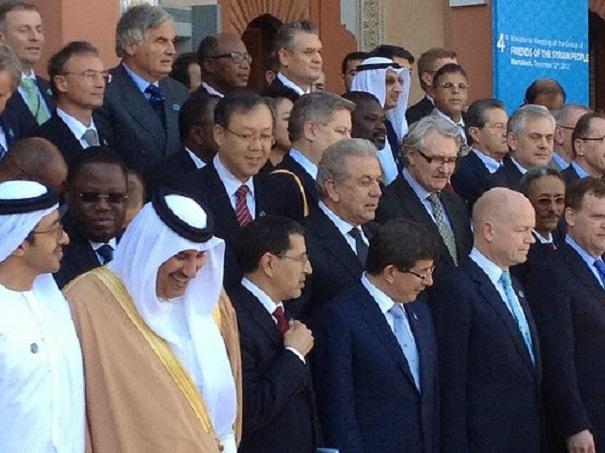 Ο Δ. Αβραμόπουλος στην 4η Συνάντηση των «Φίλων της Συρίας» στο Μαρόκο