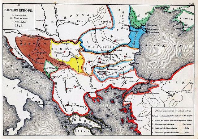 Οι εδαφικές αλλαγές μετά τον Α' Βαλκανικό Πόλεμο