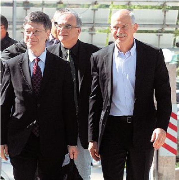 Ὁ Ἐντιμότατος Κος Jeffrey Sachs1