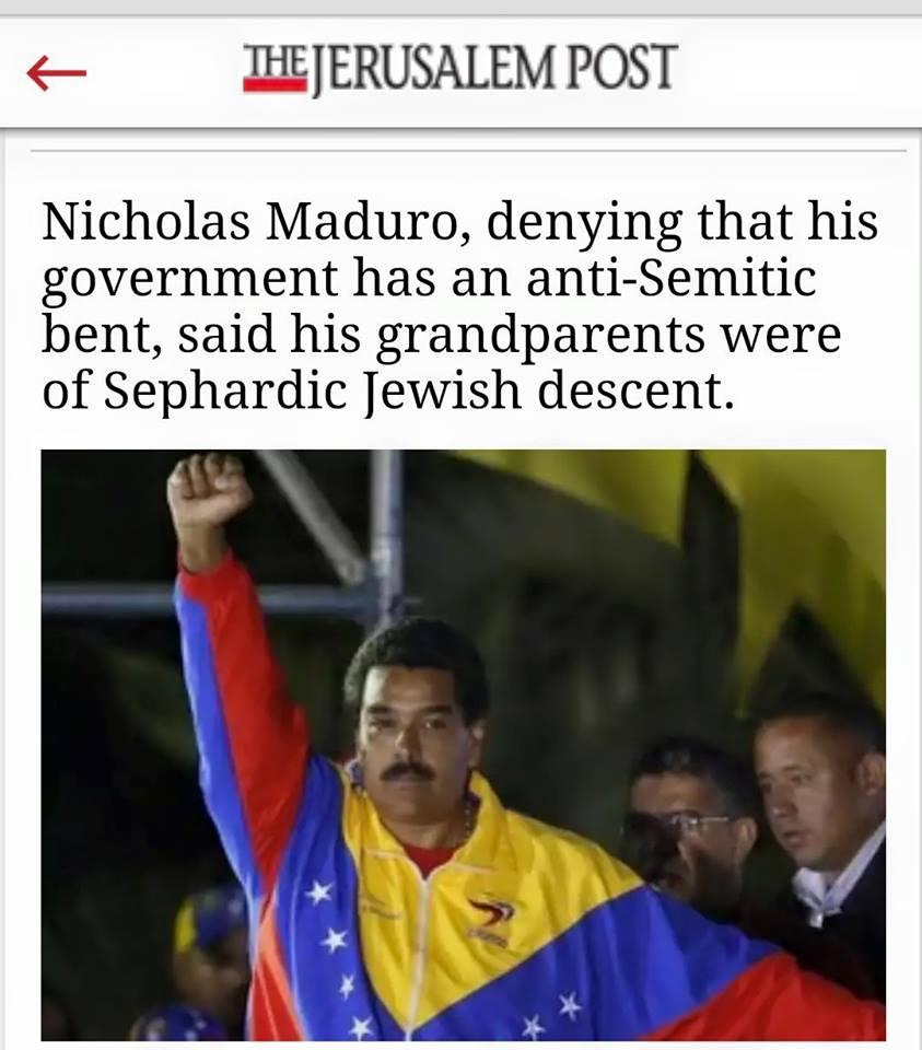 Κάτω ὁ Maduro;2