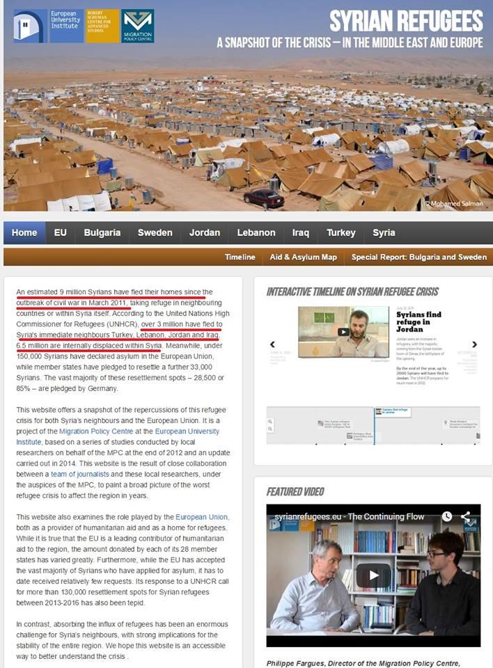 ΟΥΤΕ ἕνας Σύριος πρόσφυγας φιλοξενεῖται ἀπὸ τὸ Ἰσραήλ, ποὺ εὐθύνεται γιὰ τοὺς Συρίους πρόσφυγες!!!!!!2