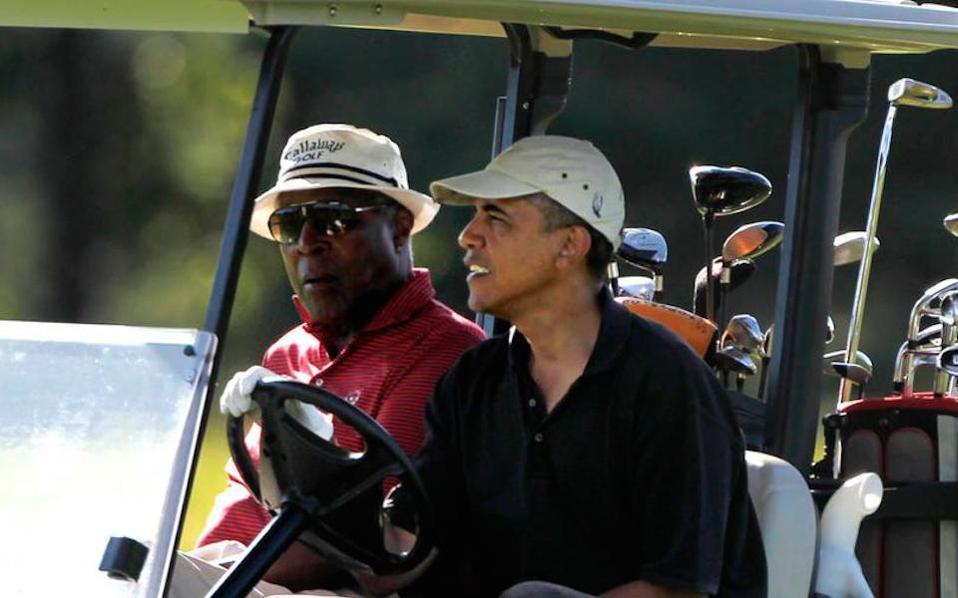 Οἱ «πλανητάρχες» παίζουν golf ἐφ΄ ὅσον ἡ γενοκτονία τῶν Συρίων ὁλοκληρώνεται!!!1