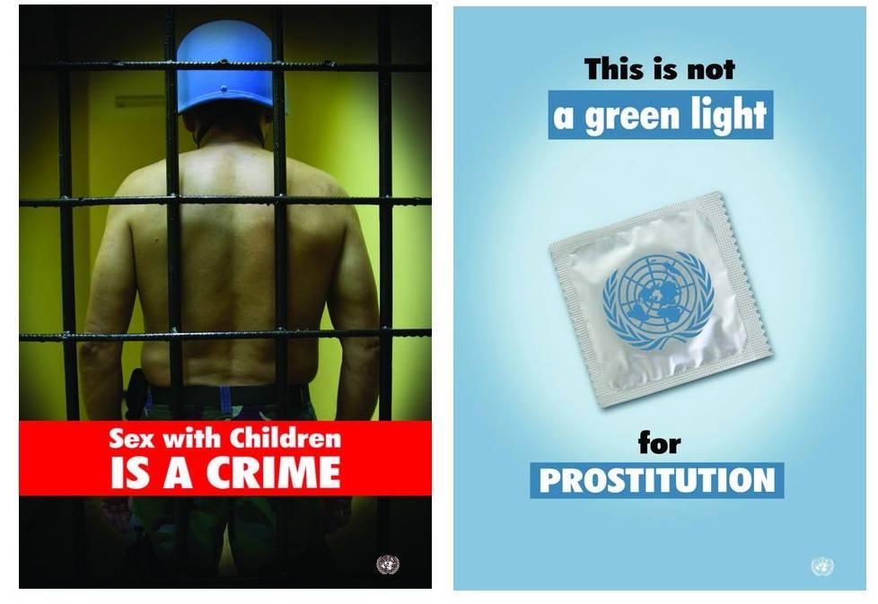 Παρακαλῶνται οἱ κυανόκρανοι τοῦ ΟΗΕ, ποὺ βιάζουν παιδιά, νὰ ...συγκρατηθοῦν!!!2