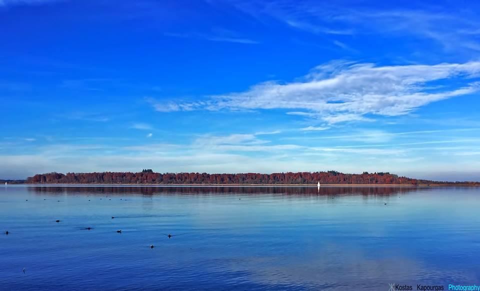 Στὴν λίμνη Chiemsee...