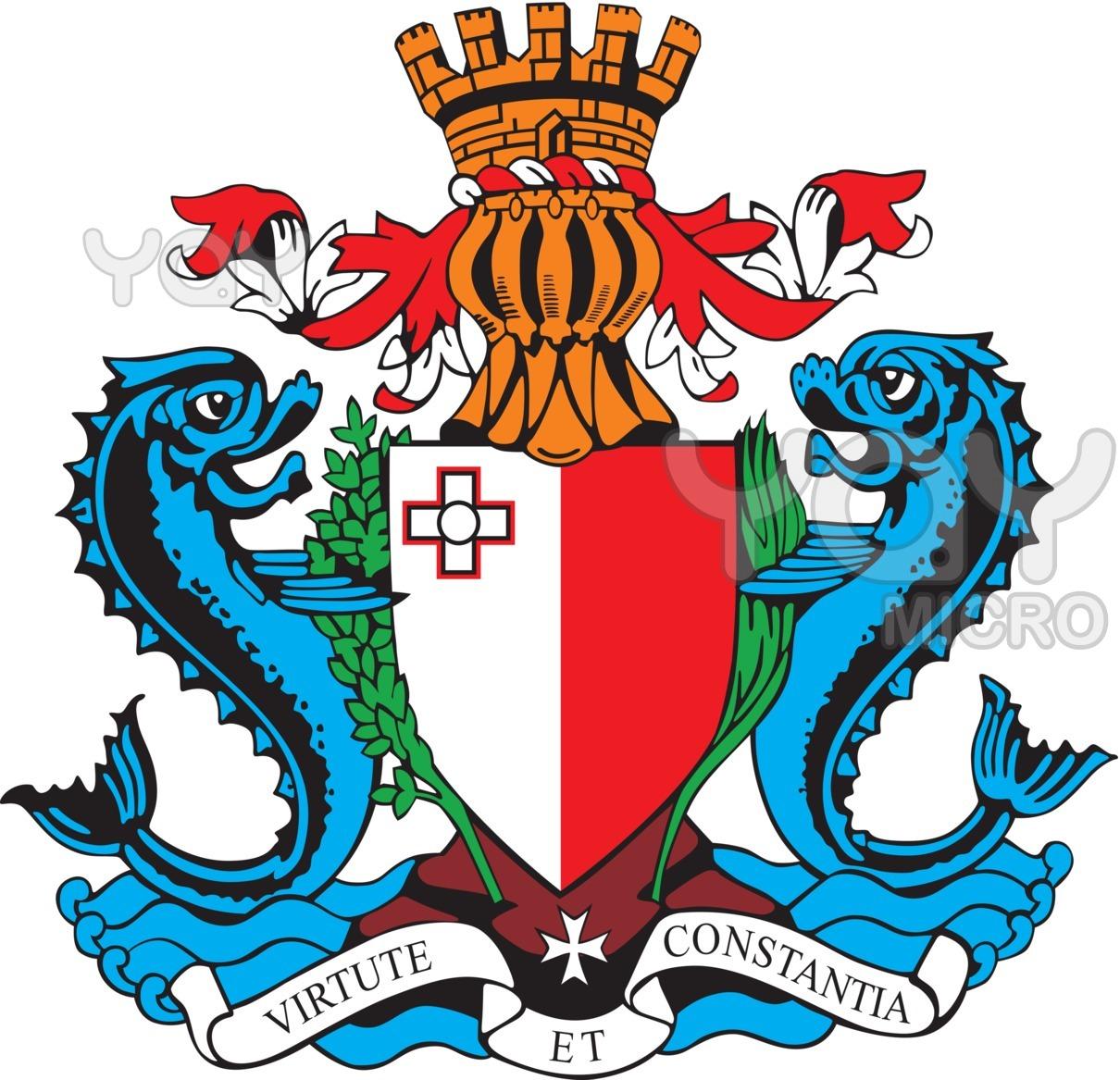 Σύμβολα καὶ οἰκόσημα...39 Μάλτα