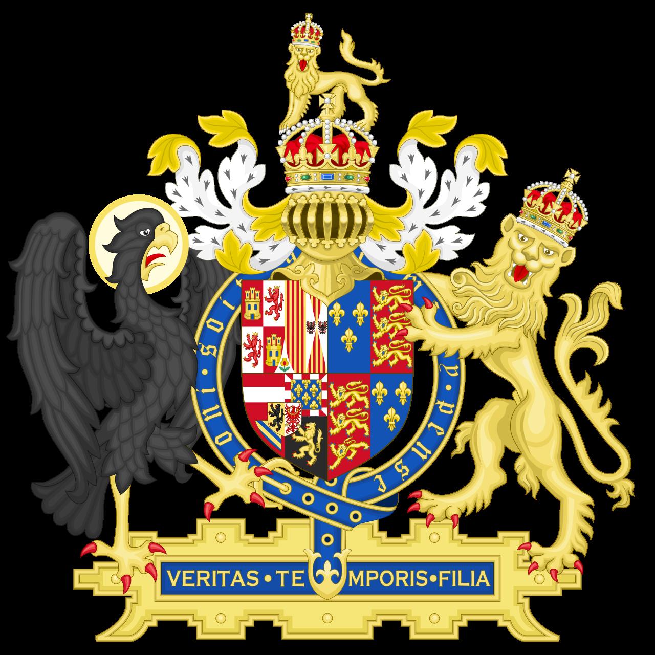 Σύμβολα καὶ οἰκόσημα...68 Ἀγγλία ἀριστερὸς μαῦρος ἀετός