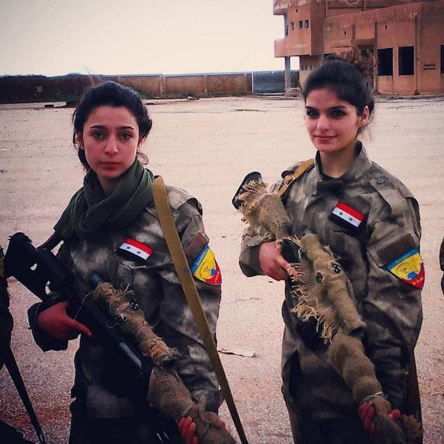 Οἱ γυναῖκες τῆς Συρίας πολεμοῦν!!!