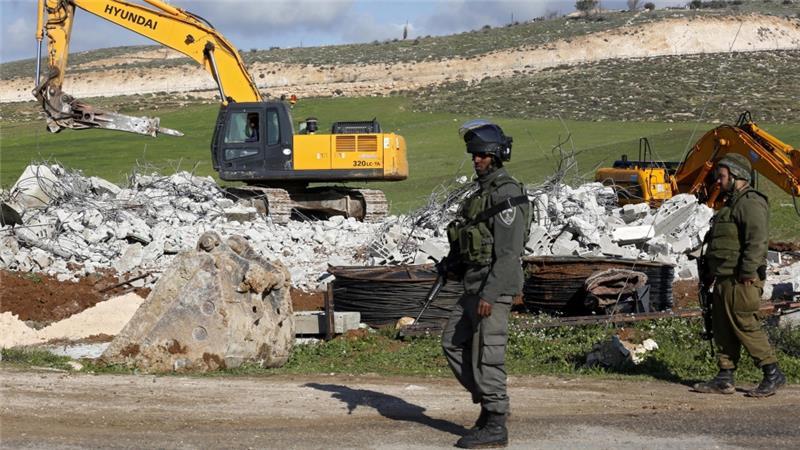 Καὶ τὸ Ἰσραὴλ «ξηλώνει» διαρκῶς τοὺς Παλαιστινίους...