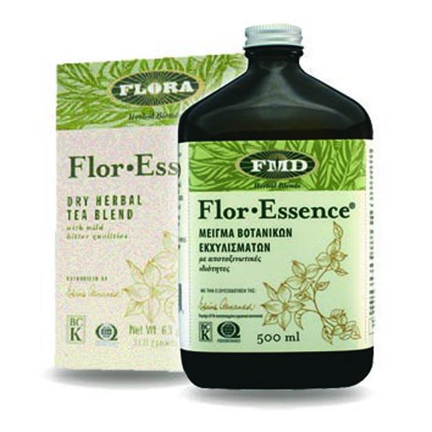 Ἀποτοξίνωσις μὲ ὀκτὼ βότανα. (Flor-Essence)