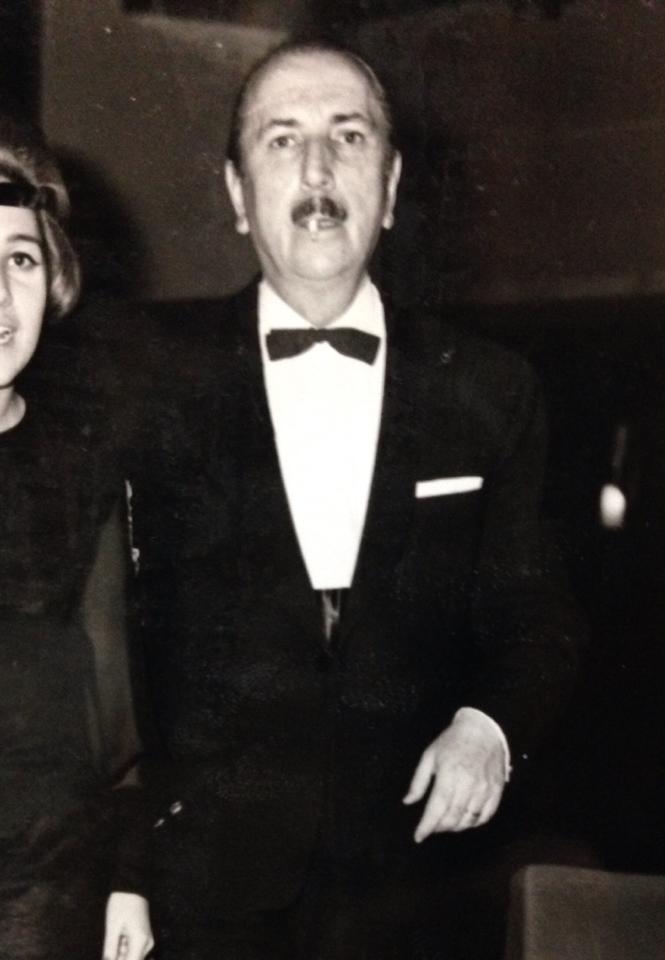 Ο παππούς μου, Δημήτριος Αθ. Κυρίτσης.