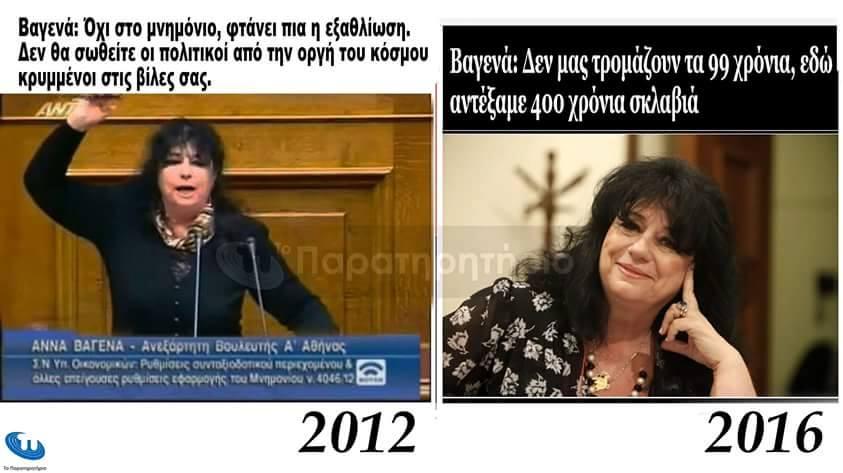 Ψηφίζω, στηρίζω ἀλλὰ ...διαφωνῶ!!!
