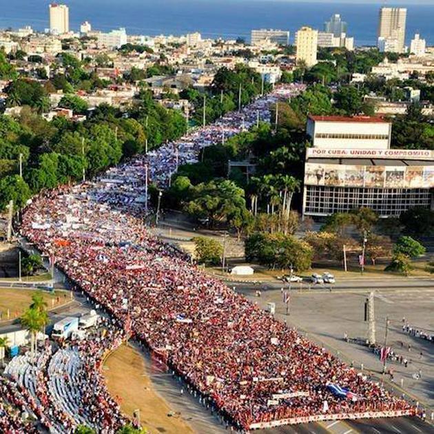 Ἀποχαιρέτα την τὴν Κούβα ποὺ χάνεις...