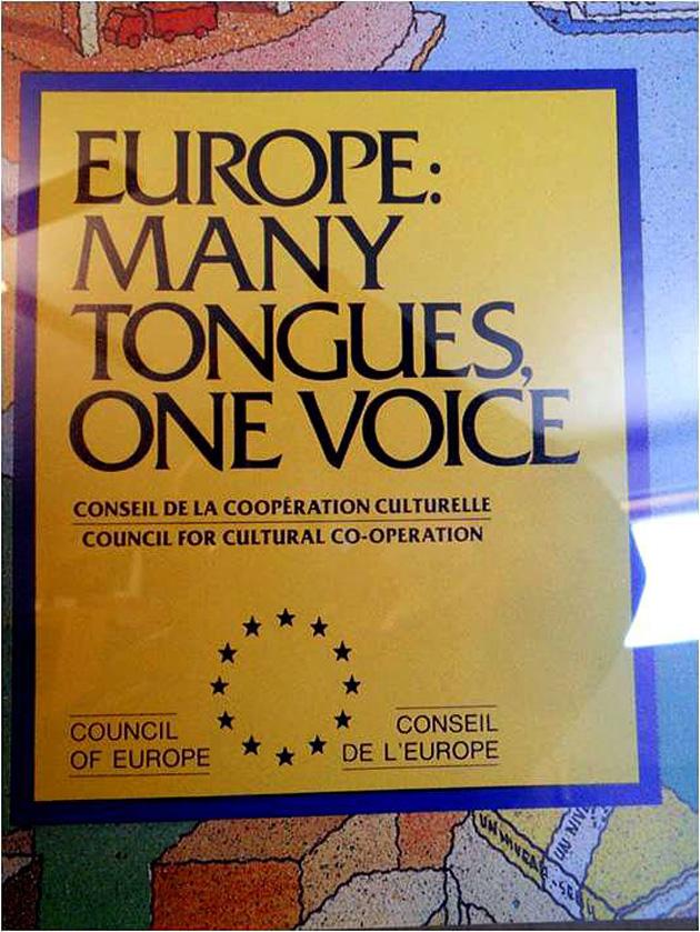 «Ευρώπη: Πολλές γλώσσες μία φωνή»