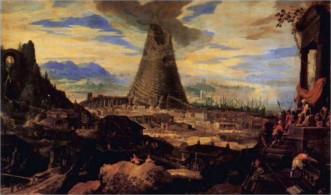 Lodewijk Toeput, Tower of Babel, c. 1587