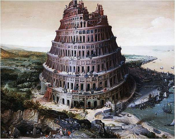 Lucas van Valckenborch, Tower of Babel, 1568