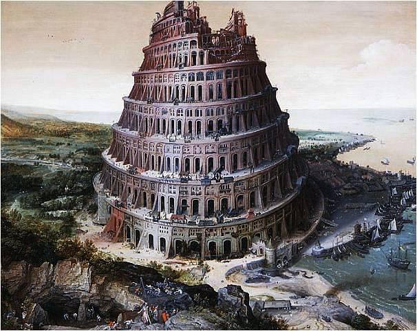 Lucas van Valckenborch, Tower of Babel, 1568