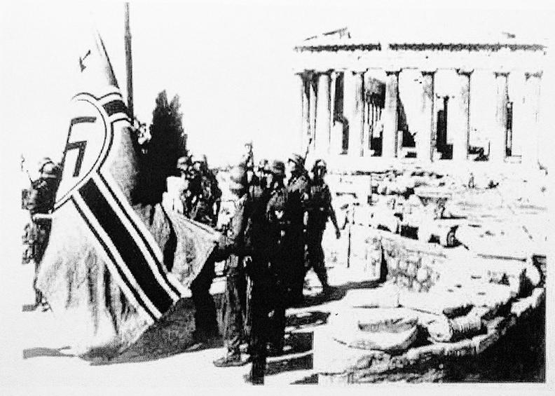 Γνωρίζουμε αὐτούς πού πραγματικά κατέβασαν σημαῖες ἐπί Κατοχῆς;1