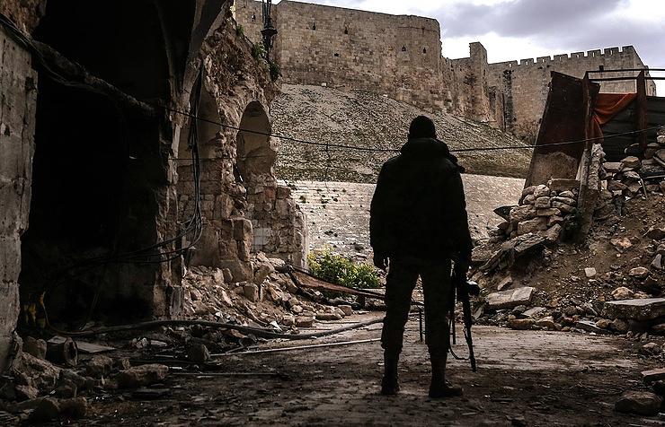 Τζιχαντιστὲς ἐγκαταλείπουν τὸ Χαλέπι!!!