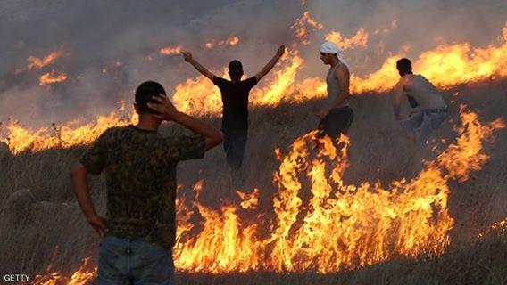 Φωτιὲς στὴν Παλαιστίνη ποὺ ...δὲν ὑπάρχουν!!!1