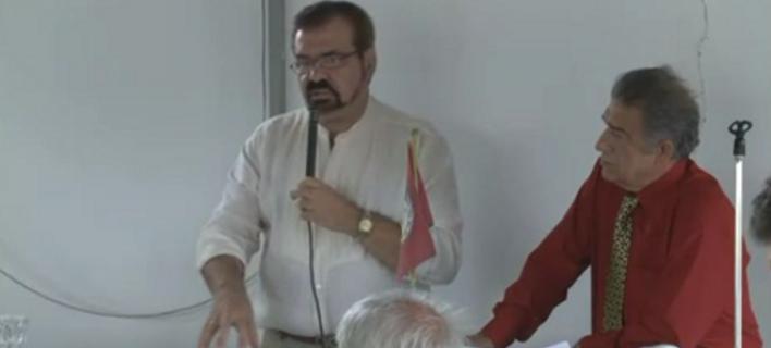 Ο γιατρός Μανώλης Λαμπράκης. Φωτογραφία via youtube