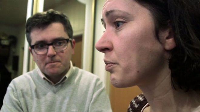 Η Ρουθ και ο Μάριους στην συνέντευξη τους στο BBC
