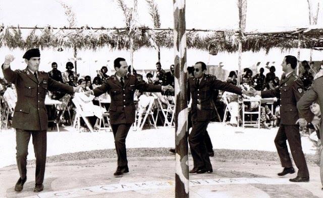 Στὰ στρατόπεδα τῆς Κύπρου πρὶν τὴν εἰσβολή...1